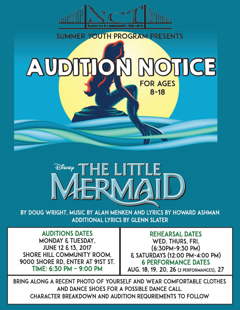auditions flyer